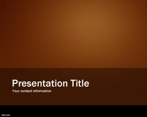Orange and brown PowerPoint template background for PPT presentations