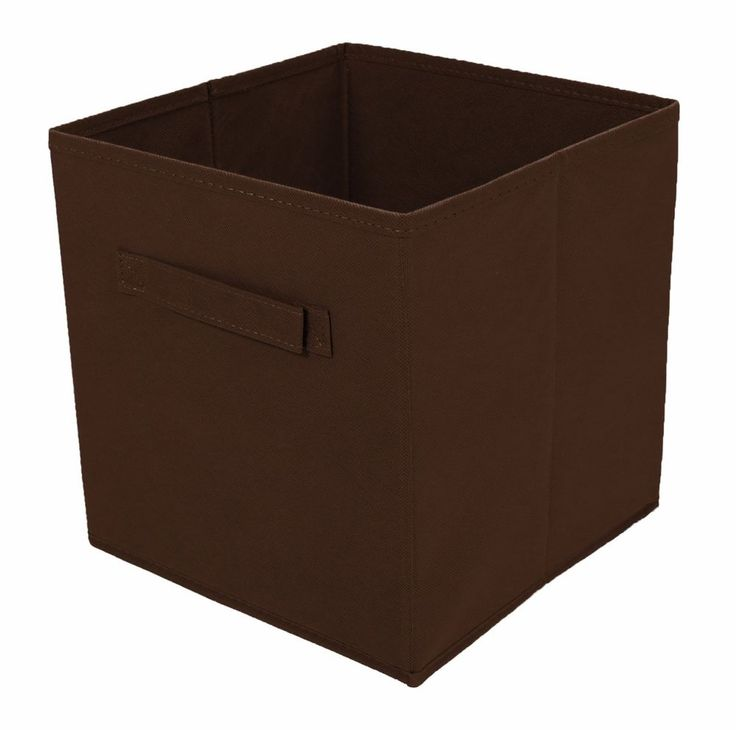 Tidy Living - 2PK Foldable Fabric Drawer (Brown) #TidyLiving