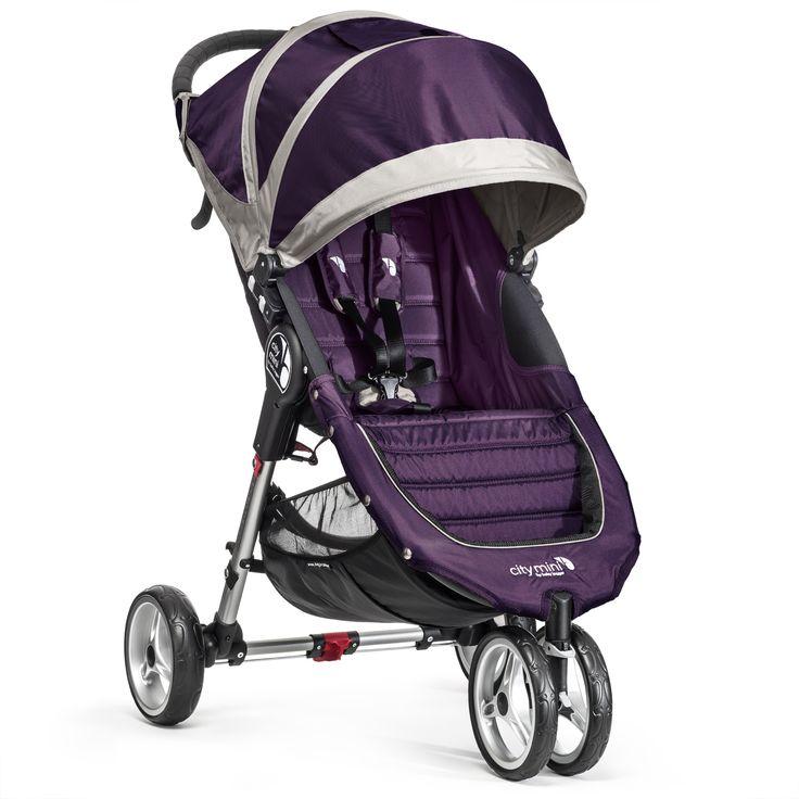 City Mini 3 - Purple/Gray Scopri tutti i modelli su www.babyjogger.it   #babyjoggeritalia