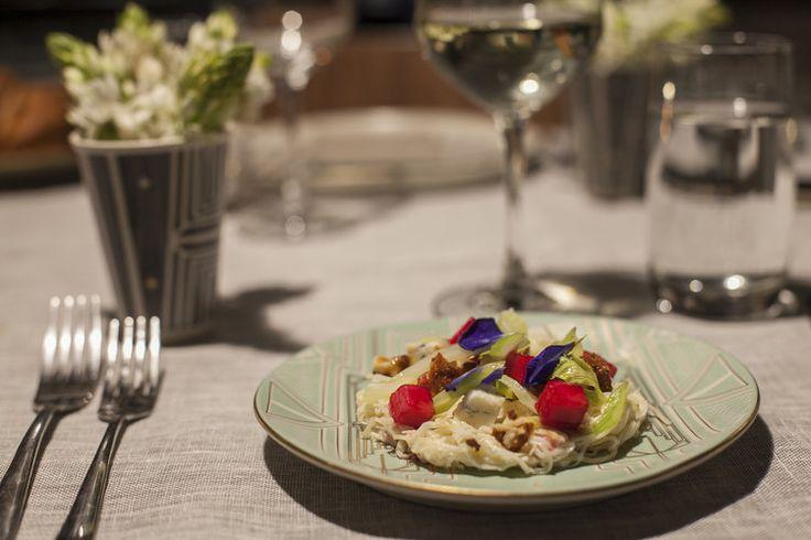 Waldorf salad at Nicobar x Magazine Street Kitchen — LOVER