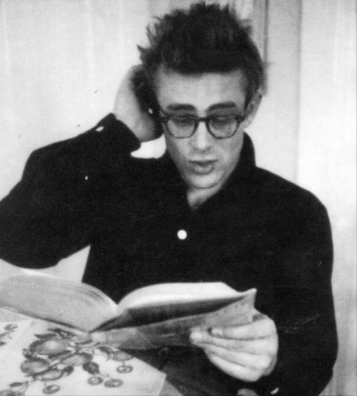 "jimmydean-jamesdean: ""A rare photo of James Dean at home, photographed by Dennis Stock """