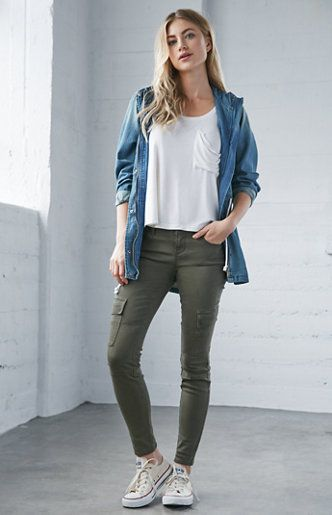 1000+ ideas about Olive Green Jeans on Pinterest
