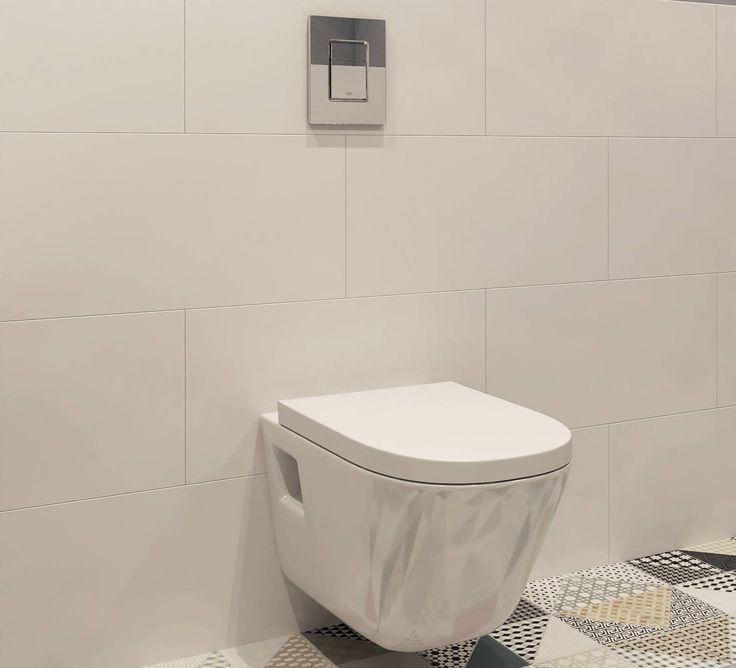 Унитаз в ванной, дизайнерский ремонт - стиль Берлин