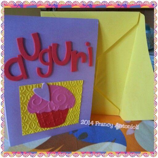Cupcake birthday card!