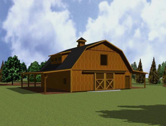 11 Best Pole Barn Ideas Images On Pinterest Pole Barns: dutch gambrel barn