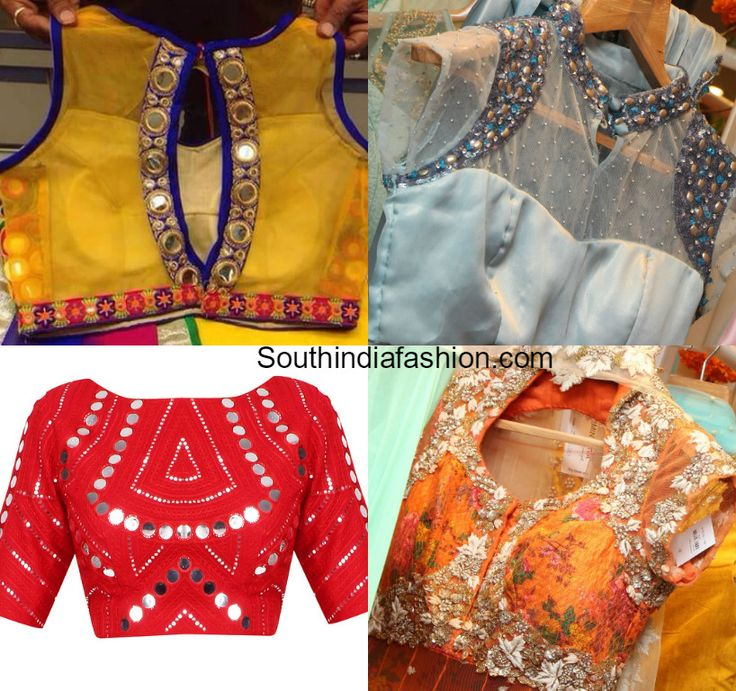 Latest Embellished Designer Blouses