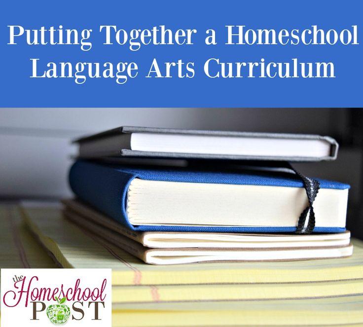 Putting Together a Homeschool Language Arts Curriculum