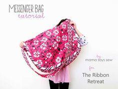 Messenger Bag Tutorial -  The Ribbon Retreat Blog