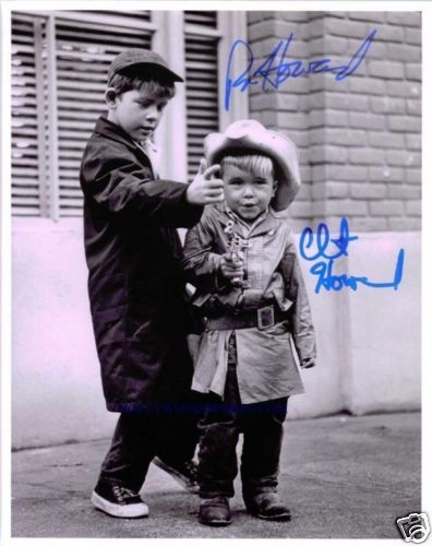Ron and Clint Howard on The Andy Griffith Show.