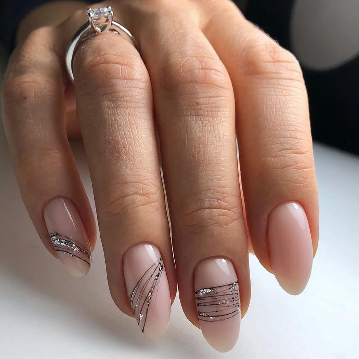 NagelDesign Elegant (#easy #ilovenailart #fo …) #elegant #ilovenailart #one …   – Nagellack
