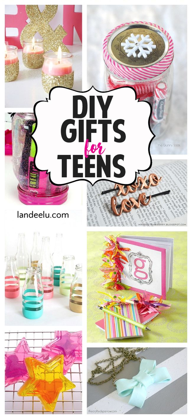 Awesome DIY gift ideas for teens to make and give their friends! Perfect for Christmas and birthdays!: