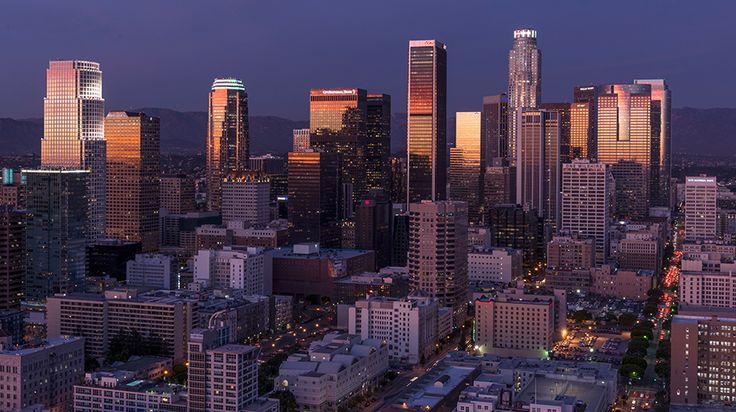 Los Angeles skyline   Prize Draw