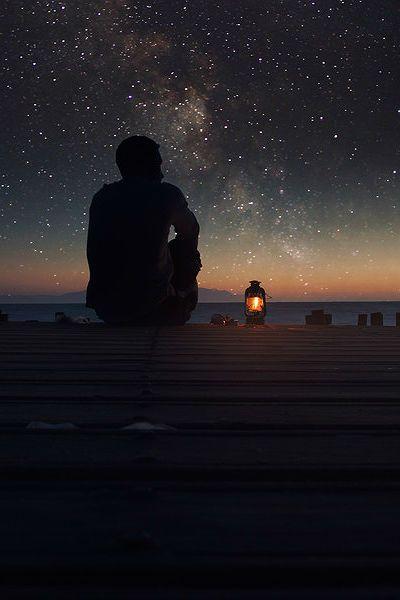Den Nachthimmel genießen