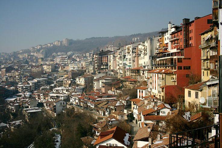 Veliko Tarnovo, a nice medieval city in Bulgaria