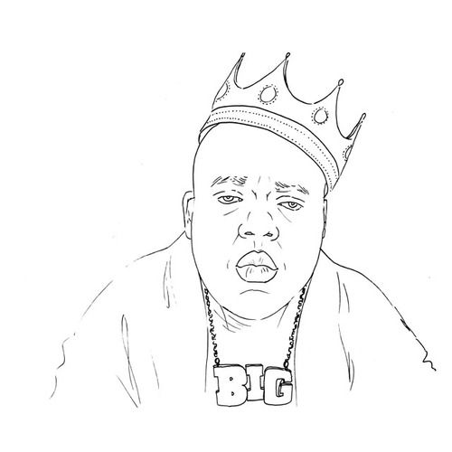 Hip Hop Colouring Book
