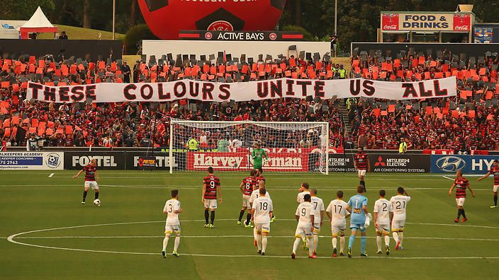 Western Sydney Wanderers has tapped into the passion of its diverse fan base like few other clubs in the A-League. (Getty)