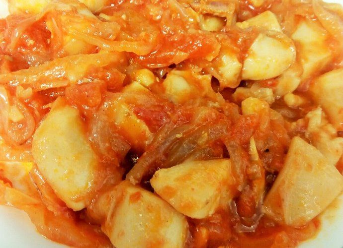 Sepia con cebolla para #Mycook http://www.mycook.es/cocina/receta/sepia-con-cebolla