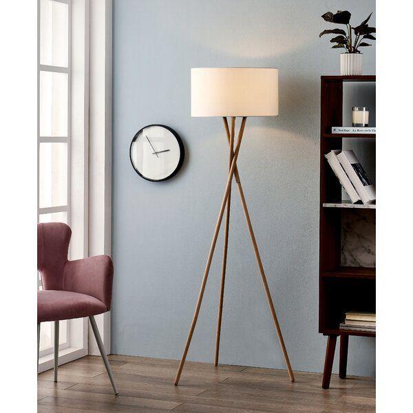 Kennerson 61 Tripod Floor Lamp White Floor Lamp Floor Lamp