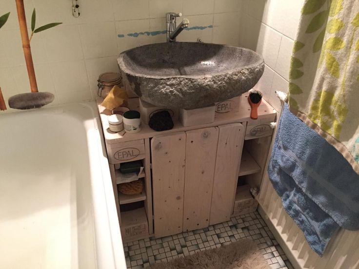 17 Parasta Ideaa: Unterschrank Waschbecken Pinterestissä ... Badezimmerschrank Waschbecken