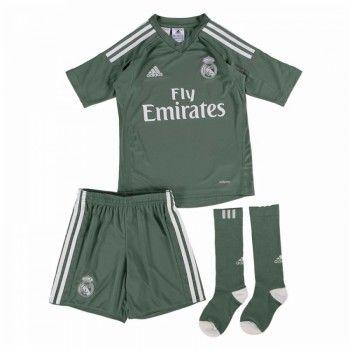 Real Madrid Målvakt kläder Barn 17-18 Hemmatröja Kortärmad  #Billiga #fotbollströjor