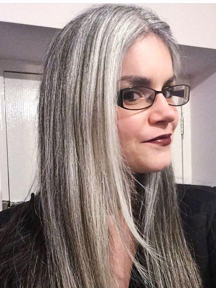554 Best Gray Hair Images On Pinterest
