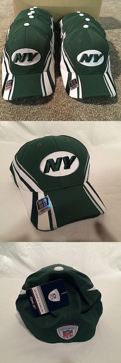 Helmets and Hats 21222: New York Jets Football Team Issued - On-Field Sideline Reebok Hat - Dealer Lot -> BUY IT NOW ONLY: $99.99 on eBay!