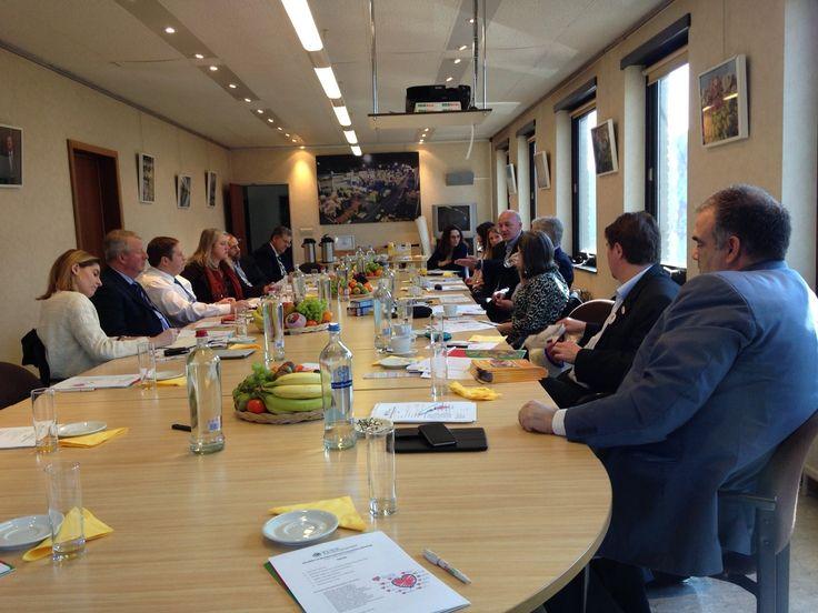 Belgium, France, Germany, Greece, Netherlands, Spain, Sweden and UK present at Love Your Local Market Global - LYLM Committee Meeting at Mabru - Marché Matinal de Bruxelles / Vroegmarkt van Brussel