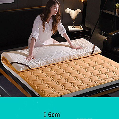 Hxyl Anti Bacterial Anti Mite Mattress Protector Non Slip Thick Tatami Floor Mat Double Bed Mattress Pad To Double Bed Mattress Mattress Pad Mattress Protector