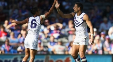 Fremantle speedster Danyle Pearce is proving to be a free agency success story.