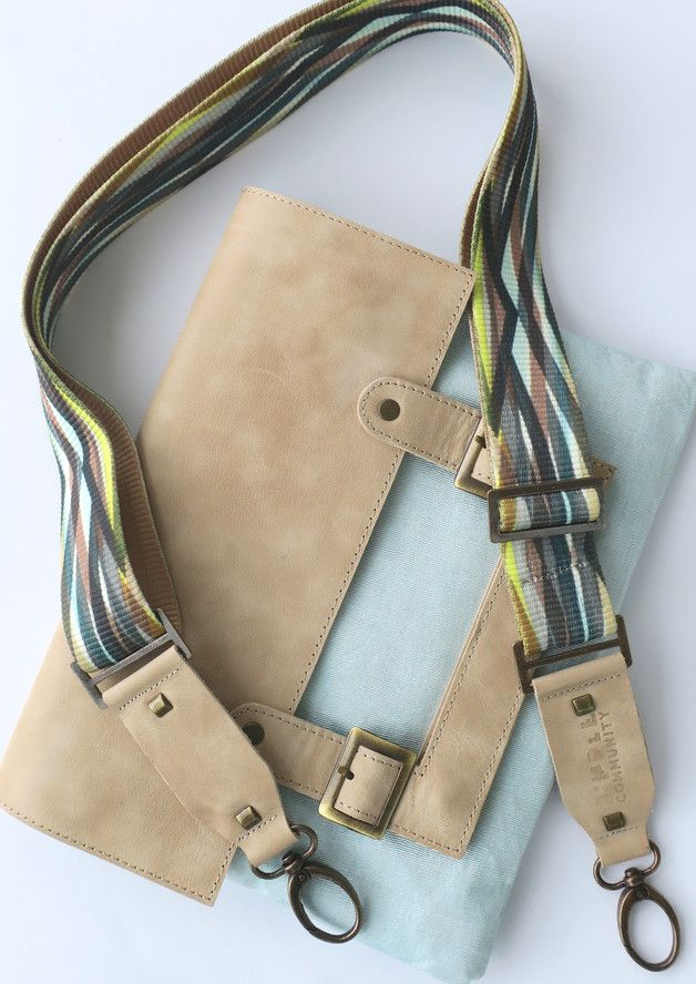 Clutches – Sea - Handmade Leather Clutch & Messenger – a unique product by SimpleCommunity on DaWanda