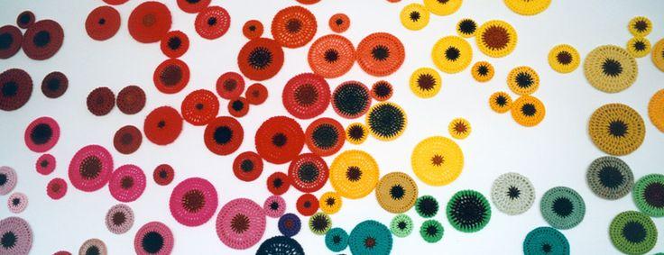 Ani Oneill  crotcheted circles