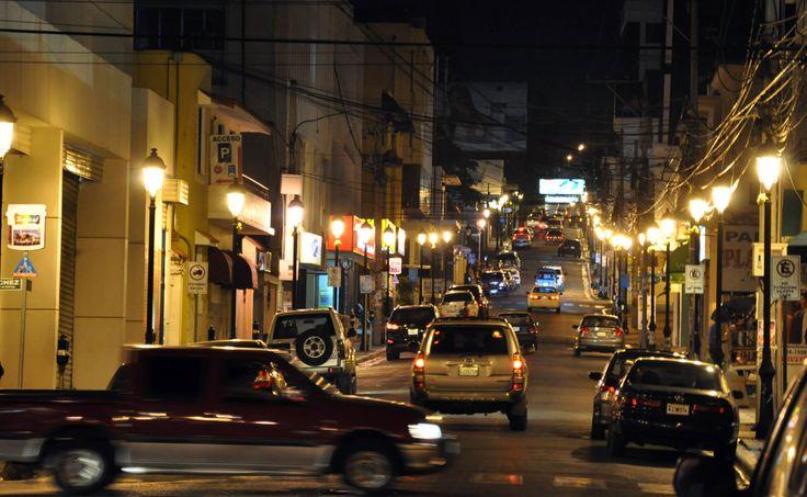 Centro Historico de Santiago de Noche