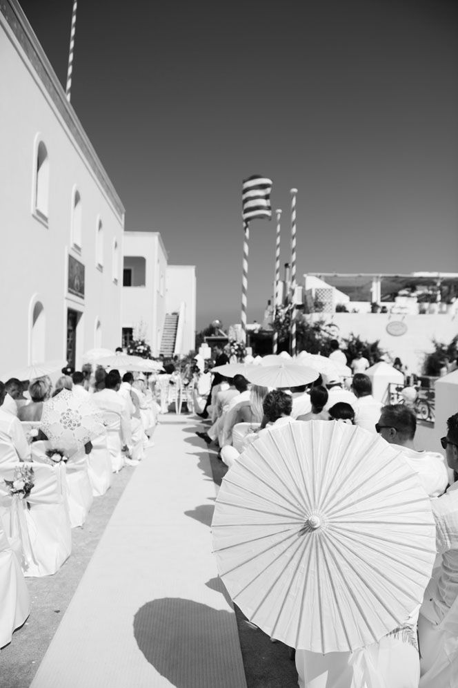 Outdoor Wedding Ceremony. Protestant Wedding in the Greek Islands. Greek Island  Wedding Inspirations by Stella & Moscha