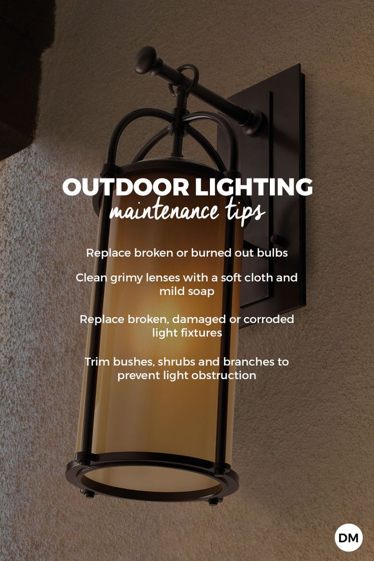How do you choose bulbs for outdoor lighting?