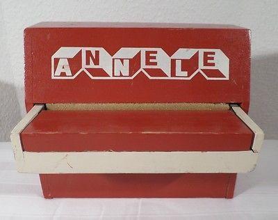 altes KINDER KLAVIER von ANNELE - Tasten Instrument Spielzeug Flügel antik in Antiquitäten & Kunst, Musikinstrumente, Tasteninstrumente, Sonstige | eBay