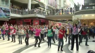 I Believe She's Amazing Flash Mob - Toronto Eaton Centre, via YouTube.