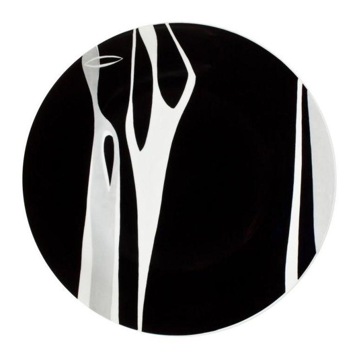 Z J A W Y........ w sam raz na dziś ;0  To talerz z naszej kolekcji Made in Zakłady Porcelany Stołowej Krzysztof w Wałbrzychu; autorstwa Walentyny Goroszenik.