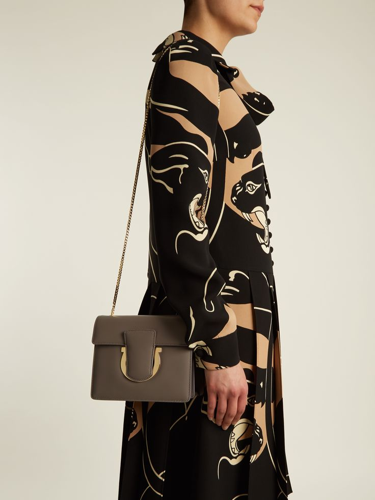 Click here to buy Salvatore Ferragamo Thalia leather shoulder bag at MATCHESFASHION.COM