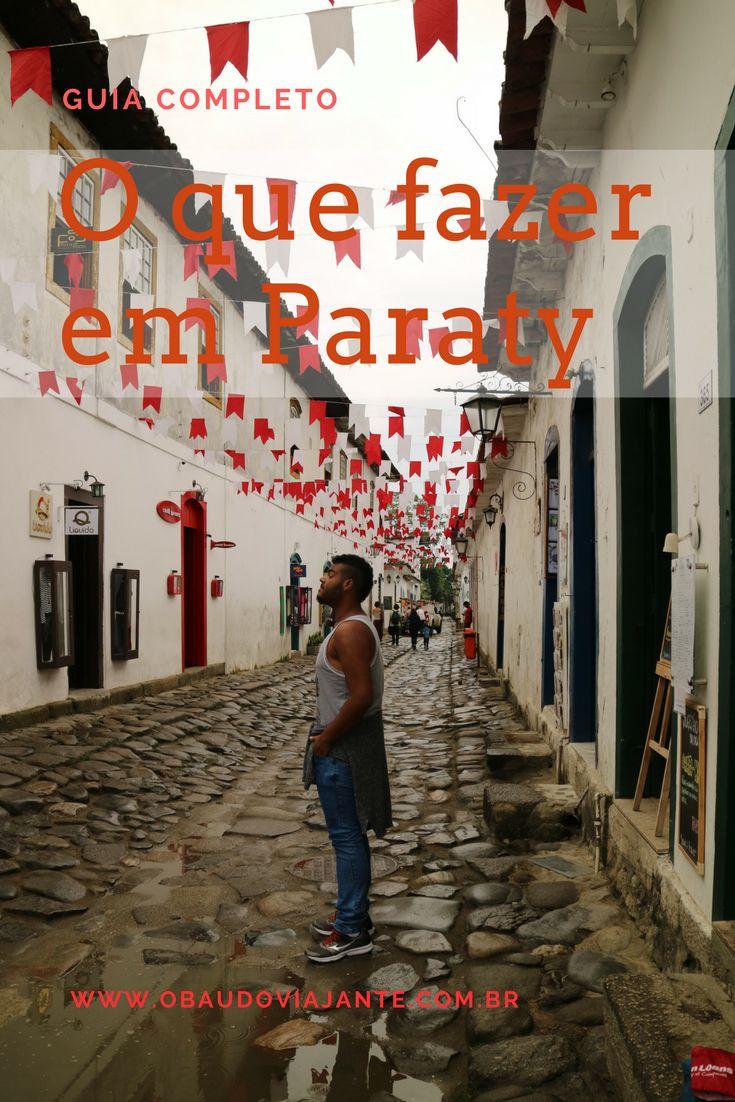 Confira as melhores dicas sobre Paraty. O que visitar no centro histórico, praias, cachoeiras e até o que fazer a noite.  Aproveite o melhor da Costa Verde no Rio de Janeiro.
