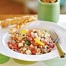 Peppery Monterey Jack Pasta Salad Recipe