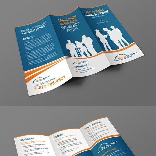 Informational Trifold Brochure Text And Samples Provided Brochure Contest Design Brochure Winning Artures School Brochure Brochure Design Modern Logo Design