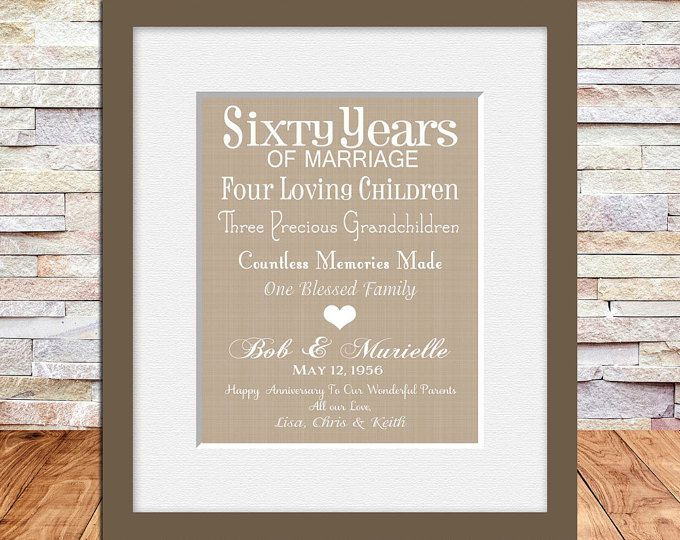 40th Wedding Anniversary Gifts For Parents Ideas: 25+ Best Ideas About Parents Anniversary Gifts On