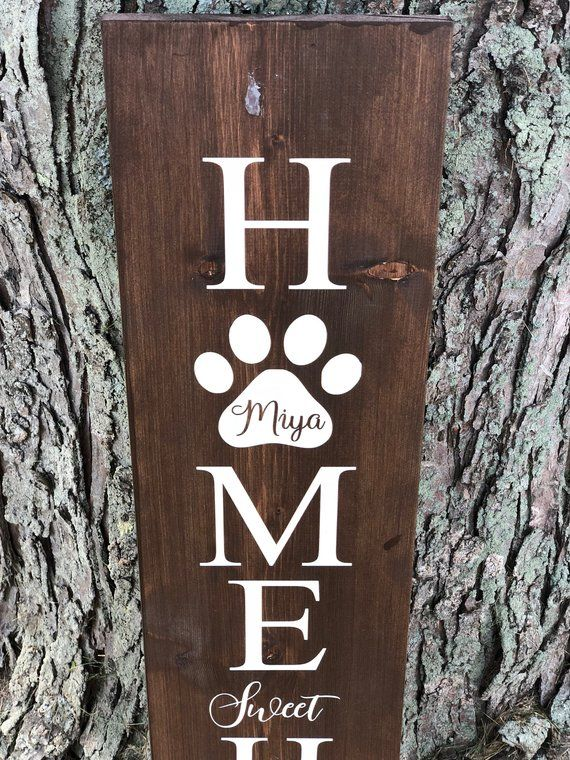 Home Sweet Home Sign Dog Paws Pet Signs Welcome Sign Paw Etsy Pet Signs Dog Signs Home Signs