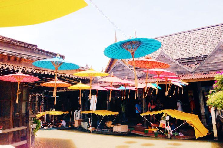 Floating market pattaya