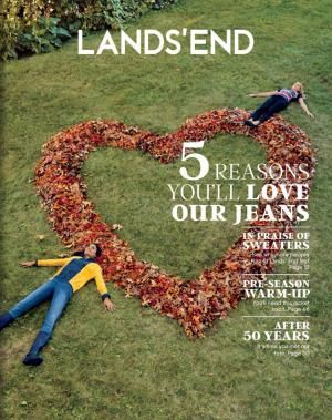 How to Request a Free Lands' End Catalog