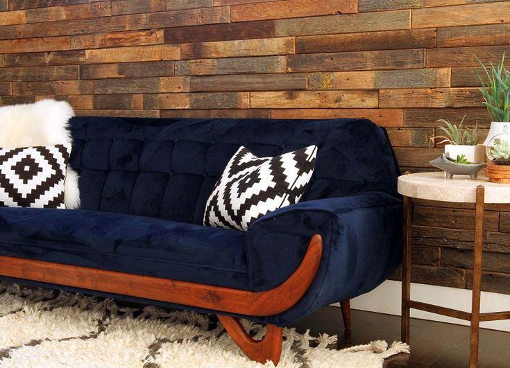 17 beste idee n over blauwe banken op pinterest blauwe fluwelen bank blauw fluwelen sofa en - De mooiste fauteuils ...