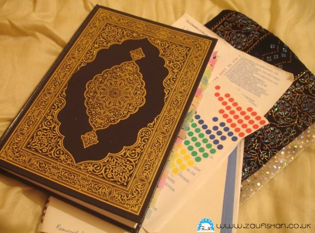 Organisation Advice For Your Qur'an Reading