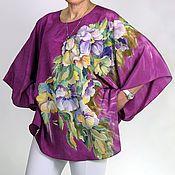 Магазин мастера BATIK-STYLE: платья, шали, палантины, шарфы и шарфики, пляжные туники, картины цветов