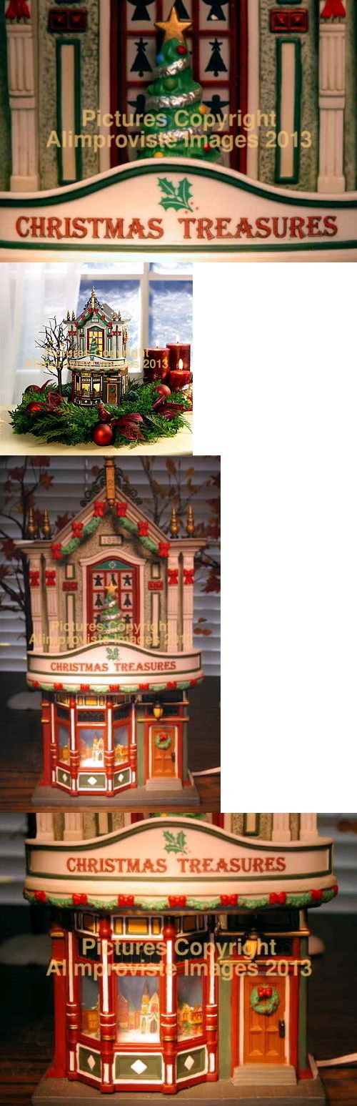 Christmas Collectible Department 56: Christmas In The City Dept 56 Christmas Treasures! 59240 New! Mint! Fabulous! -> BUY IT NOW ONLY: $119.95 on eBay!