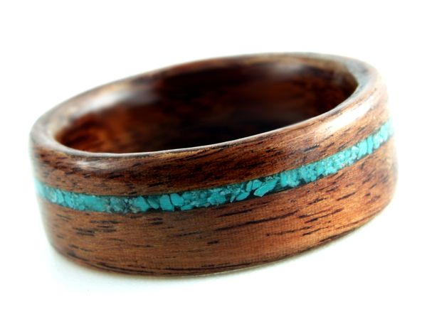 gorgeous wooden rings